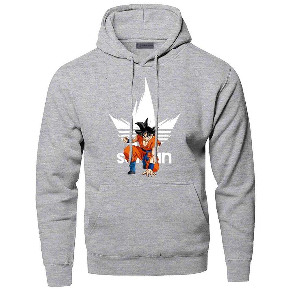 Dragon Ball Super Hoodies Sweatshirts Men Brand Japan Anime Harajuku Hooded Sweatshirt Winter Dragonball Z Sportswear