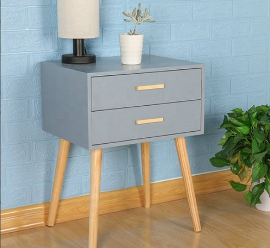 Bedside Cabinets Simple Elegant Nightstand With 2 Drawer Bedroom Cupboard Tea Table Solid Wood Tall Foot 45 35 59 5cm Hwc Nightstands Aliexpress,Weekly Bedroom Cleaning Checklist