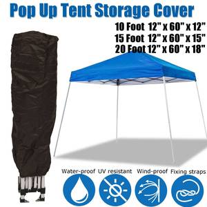 3 sizes Waterproof Anti-UV storage Cover for Pop Up Canopy Tent Garden Tent Gazebo Canopy Outdoor Marquee Shade protector(China)