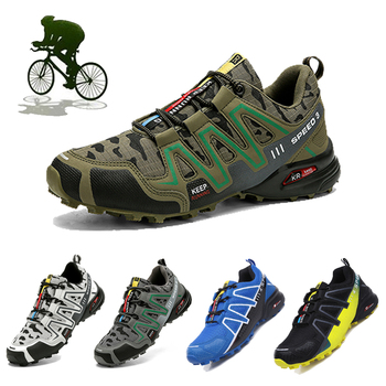 New Spd Sport Bike Sneakers Men Mtb Cycling Shoes Men Mountain Bike Shoes Road Non-slip Scarpe Sapatilha Ciclismo Mountain Bike 1
