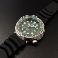STEELDIVE 1975 ceramic watch frame diving watch Super C3 luminous watch men's automatic Japanese nh35 mechanical watch men's 300