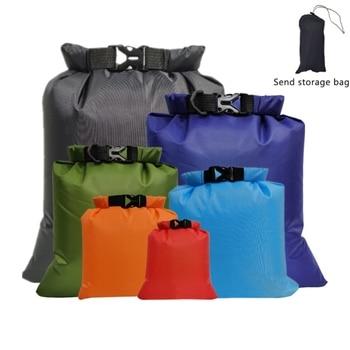 цена на 6pcs/set Outdoor Waterproof Dry Bag Pack Sack Swimming Rafting Kayaking River Trekking Floating Sailing Canoing Boating Bags