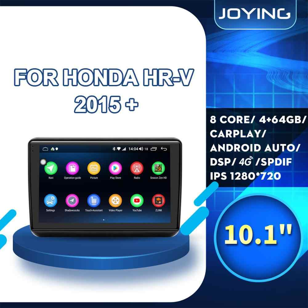 "10.1 ""IPS Head Unit Android 8.1 Car Radio Stereo untuk Honda H-RV HRV 2015 + Left Drive GPS Tidak Ada pemutar DVD DSP WIFI/4G Bluetooth FM"