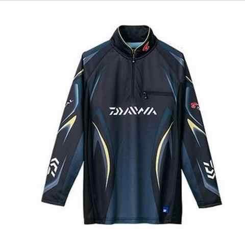 Daiwa respirável camisa de pesca de manga longa jaqueta de pesca esporte equitação anti-uv secagem rápida roupas de pesca dos homens roupas de pesca