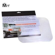 цена на Angle Lens Auto Car Parking Reversing Sticker Rear Windshield Useful Enlarge View Angle Optical Lens Sticke