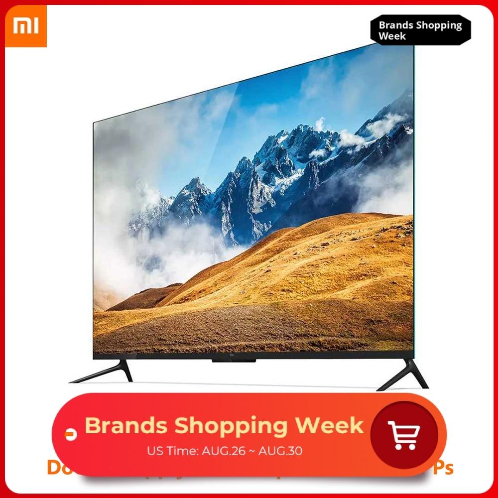 Xiaomi TV 4 55 pouces 4K Smart Ultra mince TV avec montage mural et bureau cadre en métal Ultra étroit 2GB 8GB Smart TV