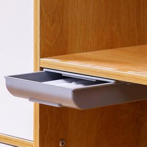 Creative Kitchen Desk Organizer Storage Box Sundries Stationery Bedroom Pen Holder Case Container Adhesive Drawer Under Table