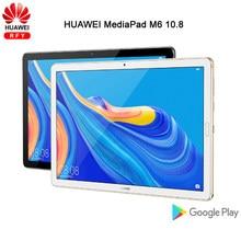 Huawei Mediapad M6 10.8 'Kirin 980 Octa Core tablet PC Android 9.0 7500mAh odcisk palca Google play czterokanałowy GPU Turbo 3.0