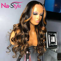 Colored Human Hair Wigs Ombre Lace Front Wig Body Wave Preplucked Lace Wig Brazilian 13x6 Lace Front Human Hair Wigs Glueless