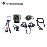2020 Color display Waterproof Promotion New Arrival Electric Bike Conversion Kit System For 48v500w/750W Hub Motor sin wave