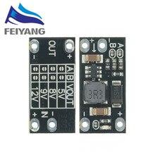 10 stücke Neueste Multi-funktion Mini Boost Modul Schritt Up Board 5V/8V/9V/12V 1,5 EINE Led-anzeige Diy Elektronische Spannung Modul