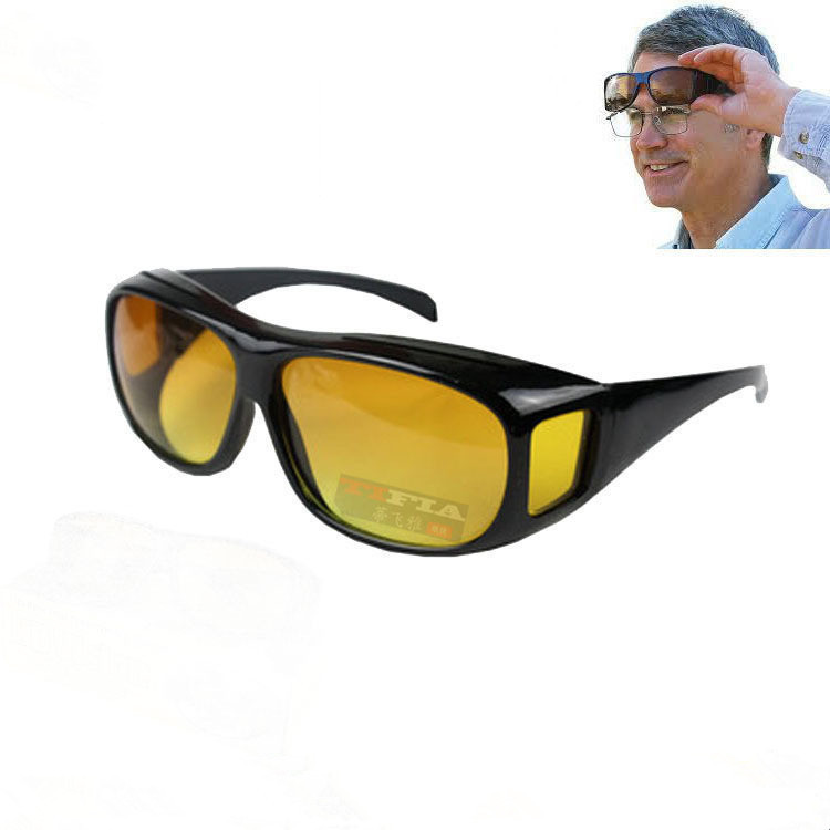Zonnebril Vissen Camping Wandelen Zonnebril Multifunctionele Night Rijden Bril Mannen Uv-bescherming Mannelijke Retro Zonnebril