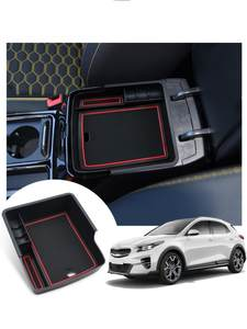 RUIYA Storage-Box Auto-Interior-Accessories Kia Xceed Car for SUV Central-Control-Armrest-Box