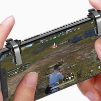 Una coppia PUBG Game Shooter S4 cellulare Trigger di gioco pulsante di fuoco scopo chiave gioco maniglia Controller L1R1 per Iphone Xiaomi