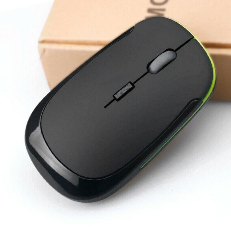 Wireless Mouse Computer Gaming Mouse Silent PC Rechargeable Mouse 2.4G USB Optical Mice For Laptop Pc Gamer Completo