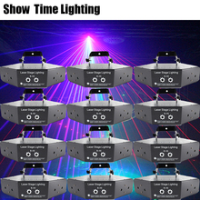 12Pcs/lot Disco Lazer Red Green Blue RGB Beam 16 Patterns Laser Scanner Light Home Party DJ Stage Lighting KTV Show Sector laser aucd mini remote red green laser light mixed aurora rgb led stage lighting party disco show dj home wedding effect lighting