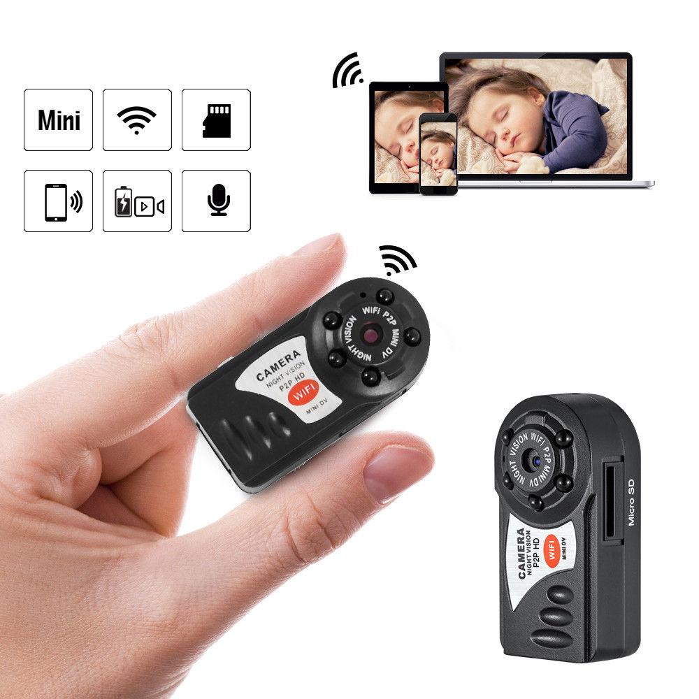 Мини Wifi ip-камера HD 1080P Мини Wifi Беспроводная камера P2P Wi-Fi мини видеокамера ночного видения Видеокамера DV камера