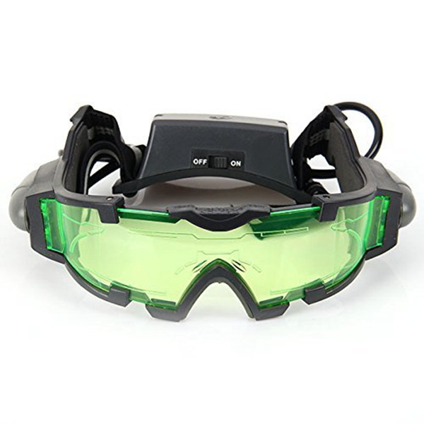 NEW-Night Vision Scope with Flip-out LED Blue for activities at night especially for children's games