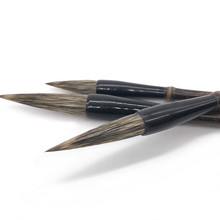 Stone Badger Hair Calligraphy Pens 3pcs Chinese Bird Landscape Ink Painting Brush Pen Set Chinese Painting Marking Brush Pen