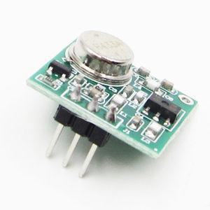 Image 2 - Практичный Модуль платы беспроводного FM передатчика постоянного тока 9 12 В, стандартный 433,92 МГц # P 433 МГц, беспроводной модуль FM передатчика
