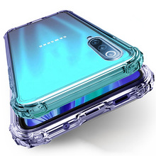 luxury clearShockproof Phone case For Samsung Galaxy A51 A71 A50 A70 A10 A30 S8 S9