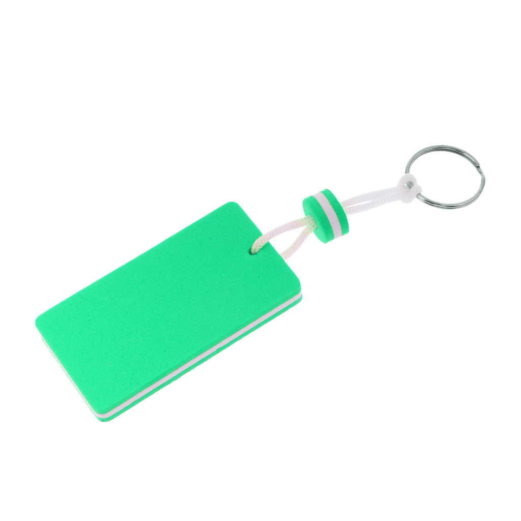 4pcs Boating EVA Foam Floating Keyring Keychain Gift Toy- Sailing Rectangle