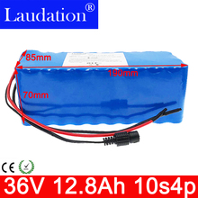 Laudation electric bicycle battery 18650 Li-ion Battery 10S4P 36V 12Ah 500W High Power and Capacity Motorcycle Scooter with BMS