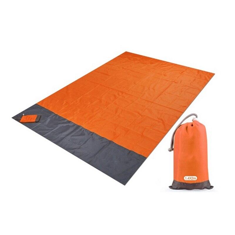 200 x 210cm Waterproof Beach Blanket Folding Camping Mat Mattress Portable Lightweight Mat Outdoor Picnic Mat Sand Beach Mat