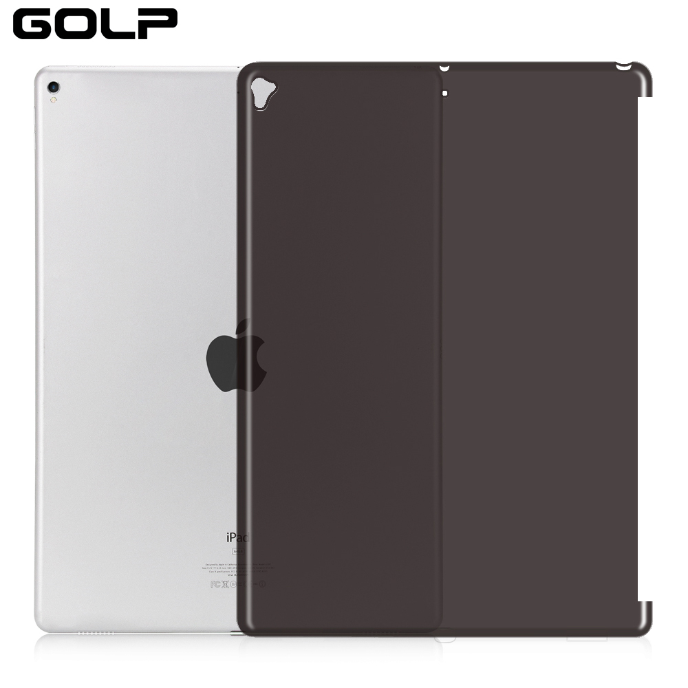 Shockproof Silicone Back Cover For IPad Pro 12.9 2015 2016 2017 Case, GOLP Soft TPU Case For IPad Pro 12.9 2017 Case