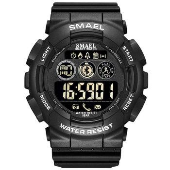 SMAEL męski wojskowy kamuflaż wojskowy zegarek na rękę LED zegarki chronograf sportowe zegarki na rękę męskie cyfrowe zegarki dla mężczyzn tanie i dobre opinie 22cm Z tworzywa sztucznego 5Bar Cyfrowy Klamra Okrągły 21mm SL-8013 Nie pakiet Cyfrowe Zegarki Na Rękę 53mm Silikon