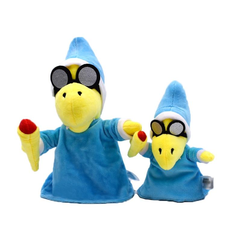 19cm/27cm Super Mario Bros Yoshi Turtles Plush Toys Blue Magic Turtles Tortoise Peluche Soft Stuffed Doll For Children Toys