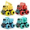 Dziecko klasyczna symulacja inżynieria samochodzik Model koparki ciągnik zabawka wywrotka Model odlewu samochodzik mały prezent dla chłopca