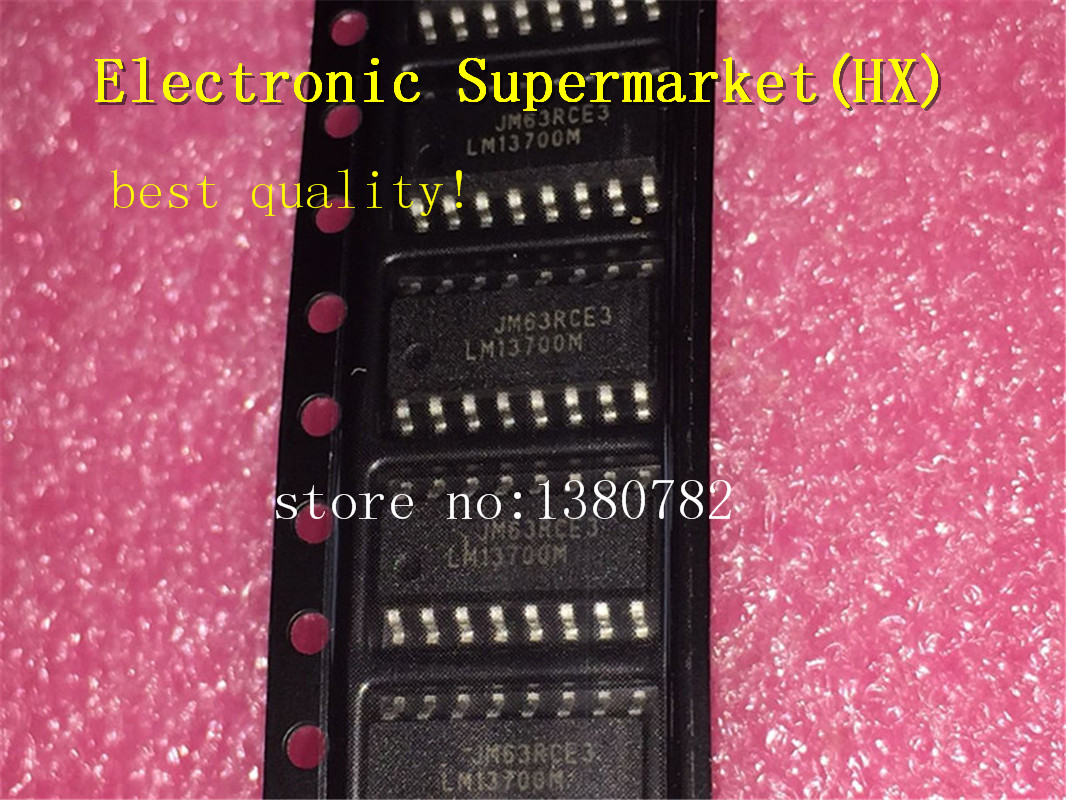 Free Shipping 20pcs/lot  LM13700MX LM13700M  LM13700 SOP-16 IC In Stock