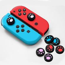 Thumb Stick Silicone Button Grip Cap Case For Nintend Switch Gamepad Joystick Console Accessories(China)
