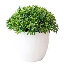 Искусственные растения бонсай маленькие древовидные пластиковые