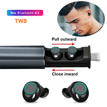New S5 TWS Bluetooth V4.2 Earphone Stereo Music IPX5 Waterproof True Wireless Earbuds with Charging Box 600mAh For Xiaomi Iphone tws earbuds bluetooth 5 0 true wireless earphone waterproof charging box hifi stereo sound bilateral call ipx4 for iphone xiaomi