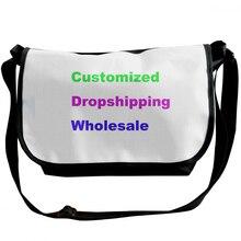 NOISYDESIGNS Customized Fashion Shoulder Bags Women Men Crossbody Bag 2019 Printing Travel Purse Bolso Mujer Feminina