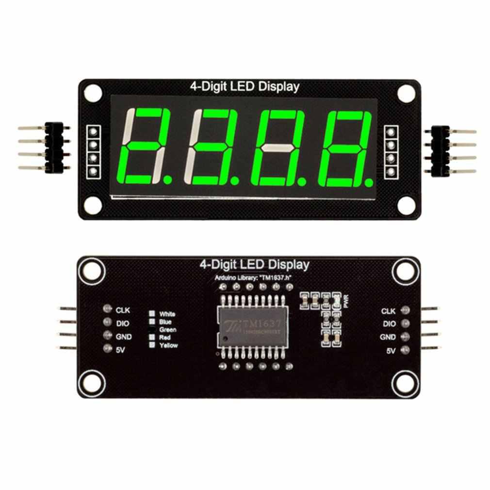 0.56 inch inch polegadas tm1637 4bit digital led 7 segmento relógio tubo display para arduino