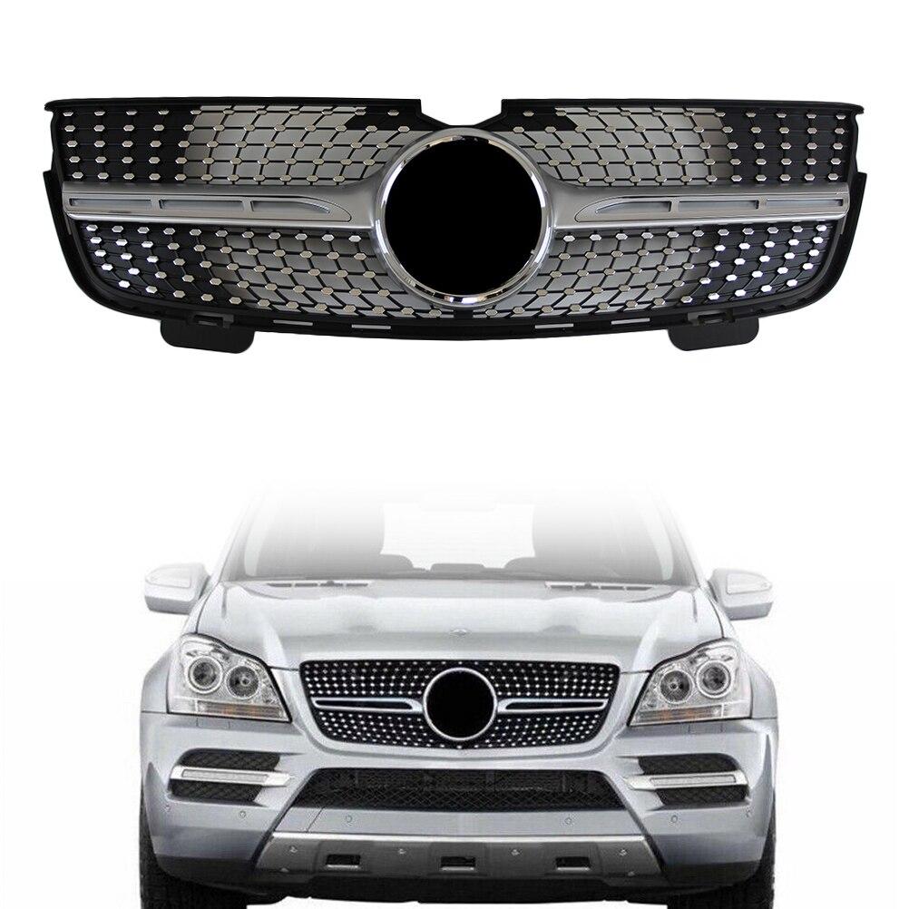 Calandre avant Pour Mercedes Benz Classe GL X164 GL320 GL350 GL450 2006 2007 2008 2009 2010 2011 2012 Diamant Style Gril