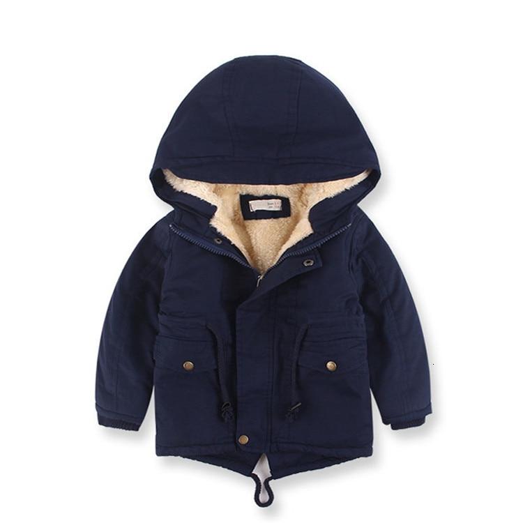 Benemaker Children Winter Outdoor Fleece Jackets For Boys Clothing Hooded Warm Outerwear Windbreaker Baby Kids Thin Coats YJ023 9