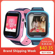 TD02 Children Smart Watch GPS 4G Full Touch Phone Watch With Camera Waterproof Kids Watches SOS Support SIM Card Video Call(China)