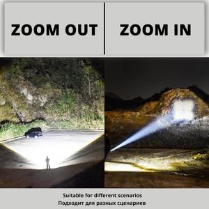 Image 4 - Super Bright LED ไฟหน้า P70.2 Wick USB ไฟหน้าแบบชาร์จไฟได้กันน้ำตกปลา 3 โหมดขับเคลื่อนโดย 18650