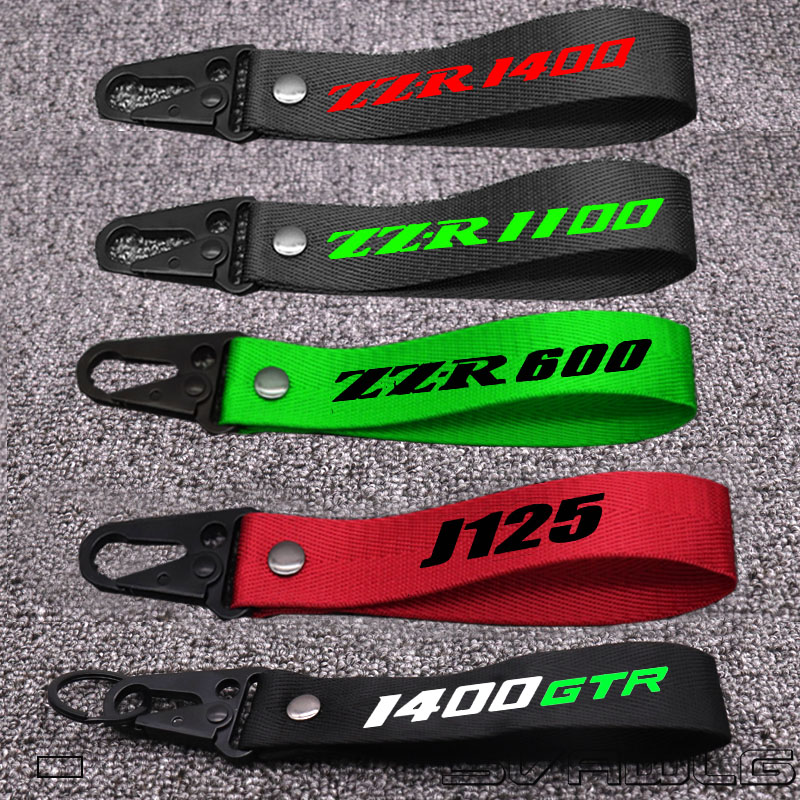 Motorrad Schlüsselanhänger KAWASAKI GTR1400 Versys J125 ER-6N ER-6F Keychains