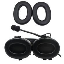 Comtac series military earphone accessories sponge earmuffs ear pads for tactical headphones  BK