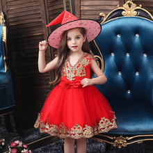 Flower Girl Dress for Kids Wedding Baby Girl Dress 2 3 4 5 6 7 8 10 12 Years Birthday Baby Girls Evening Party Dresses Vestidos 2017 baby girl dress children kids dresses for girls 3 4 5 6 7 8 year birthday outfits dresses girls evening party formal wear