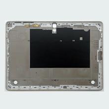 Nhà Ở Phía Sau Lưng Bao Da Dành Cho Samsung Tab S T800 T805 Galaxy 10.5 Nguyên Bản Điện Thoại Máy Tính Bảng Mới Giữa Khung Bảng Điều Khiển Thay Thế + Dụng Cụ