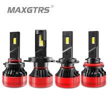 2x F6 55W CANBUS לא שגיאת רכב LED אורות H7 H11 LED מנורה לרכב פנס נורות H1 H4 h8 H9 9005 9006 HB3 HB4 H7 LED נורות