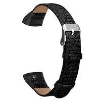 Leder Armband Gürtel Für Huawei Honor Band 5/4 Ersatz Armband Armbänder Smart Uhr Band Strap Uhr Zubehör