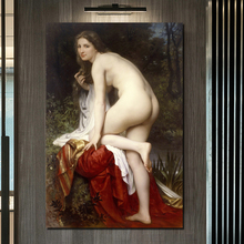 Aestheticism Woman Artworks HD Wall Art Canvas Painting Posters Prints Modern Pictures For Living Room Home Decor
