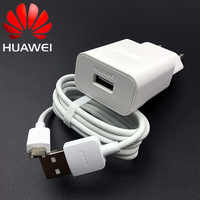 Chargeur et micro câble d'origine EU Huawei Mate 10 Lite chargeur 5v2a pour p8 p9 p10 lite mate 10 lite Honor 8x 7x y5 y6 y7 y9